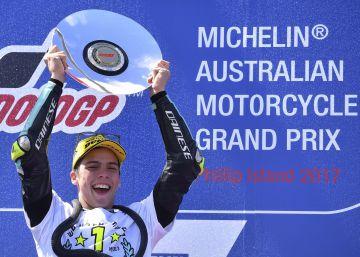 Joan Mir, nuevo campeón de Moto3 al ganar en Australia