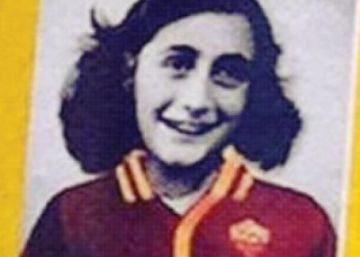 Italia estalla contra los ultras de la Lazio que se mofaron de Ana Frank