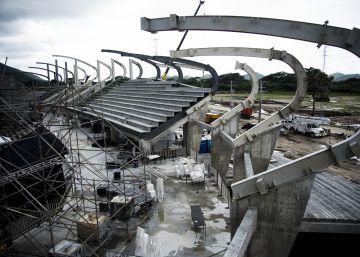 Santa Marta inaugura los Juegos Bolivarianos en el último segundo