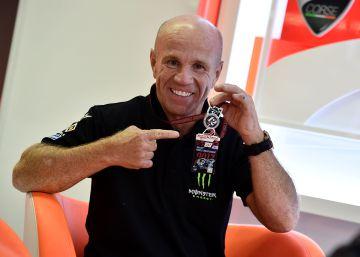 Randy Mamola: ?Lo mejor de Márquez es que lo da todo en cada sesión?