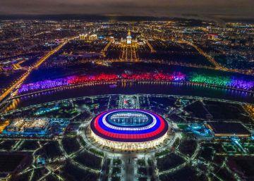Simulacro de Mundial en Rusia