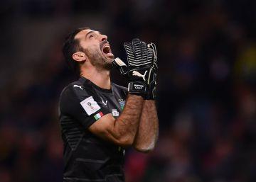 Italia se queda fuera del Mundial 2018 tras empatar con Suecia (0-0)