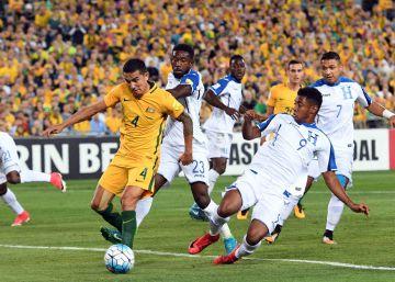 Australia no le da opción a Honduras y llega a su cuarto Mundial consecutivo
