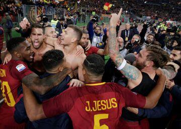 Italia olvida el Mundial con el derbi romano