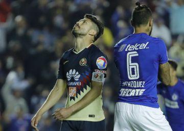 Cruz Azul desperdicia la ida de cuartos de final frente al América (0-0)