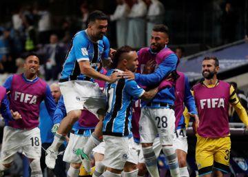 El Grêmio vence al Pachuca y cita al Madrid en la final