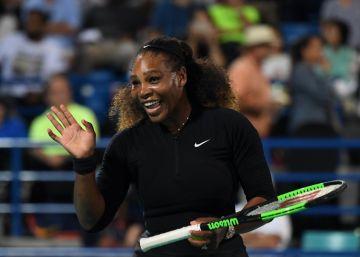 Serena Williams vuelve a las pistas tras ser madre