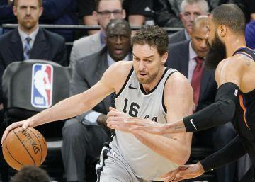 Los Spurs y Pau Gasol mantienen la velocidad de crucero ante Phoenix