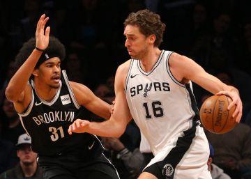 La lesión de Leonard oscurece la victoria de los Spurs en Brooklyn