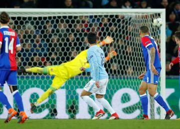 El Manchester City abusa del Basilea