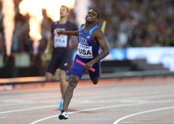 Christian Coleman bate de nuevo el récord mundial de los 60m