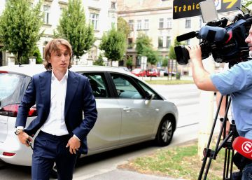 La Fiscalía acusa a Modric de falso testimonio en un caso de corrupción en el fútbol croata