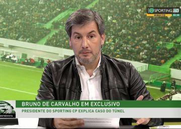 El presidente del Sporting de Lisboa, apuntado como inductor moral del ataque a sus jugadores