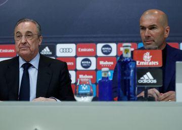 Zinedine Zidane dimite como entrenador del Real Madrid