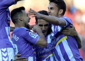 El Valladolid pone un pie en Primera División