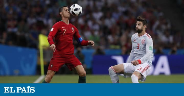 España y Portugal empatan en un partido frenético  5c8e7922cc97