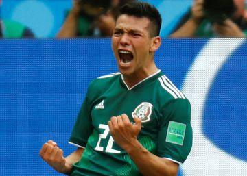México sorprende al someter a Alemania en el Mundial (0-1)