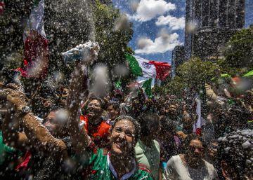 México canta y llora de alegría