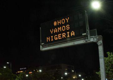 21 horas de furia en Argentina hasta la victoria de Nigeria