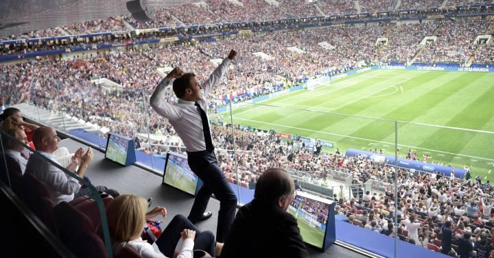 Macron, champion, Macron, champion