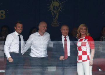 El gol de Putin: sin ultras y con estadios llenos