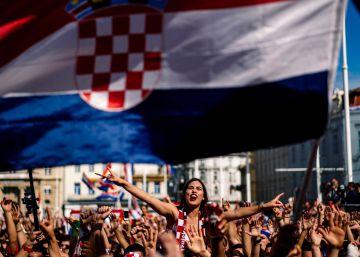 Croacia celebró como si hubiese ganado