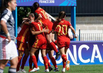 España sub-20 golea en el debut del Mundial