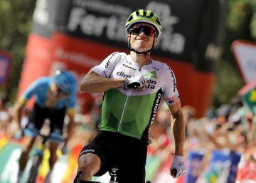 El norteamericano Ben King gana la cuarta etapa de la Vuelta