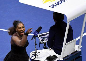 La WTA apoya la acusación de ?sexismo? esgrimida por Serena Williams