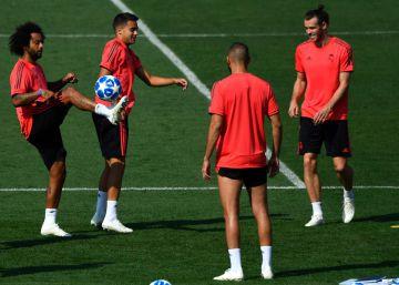 Triunfo del Real Madrid ante la Roma en la Champions League