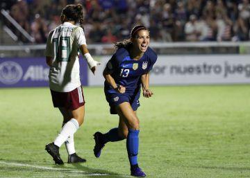 La selección femenina de México sucumbe ante EE UU en el arranque del Premundial (6-0)