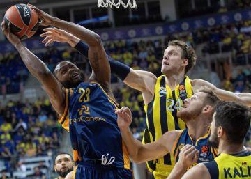 El Gran Canaria sucumbe al poderío del Fenerbahçe en su debut en la Euroliga