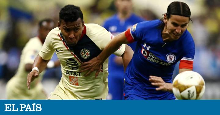 6ebc45161 América y Cruz Azul firman un empate sin goles en la final de ida de la  Liga MX