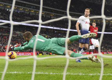 De Gea celebra la crecida del Manchester United sin Mourinho