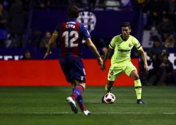 Archivada la denuncia del Levante por alineación indebida del Barça en la Copa