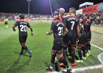 El Reus-Las Palmas, suspendido