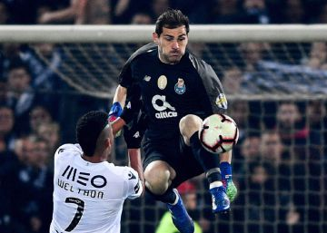 Casillas y Pepe miden la crisis de la Roma