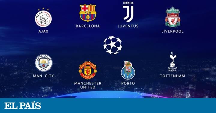 Sorteo de Champions: Manchester United-Barcelona, en cuartos ...