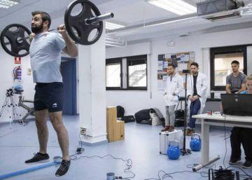 Un laboratorio para los deportistas de élite
