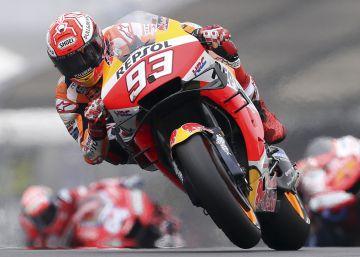 Márquez marca el tempo y gana también en Le Mans