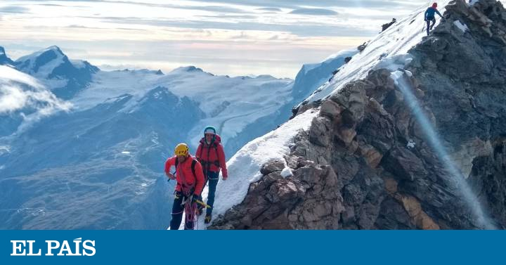 Mountaineering: A day of stress and fear in the Matterhorn | sports