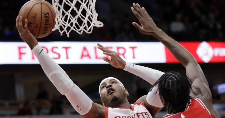 Carmelo Anthony, de estrella de la NBA a jornalero en los Blazers - EL PAIS