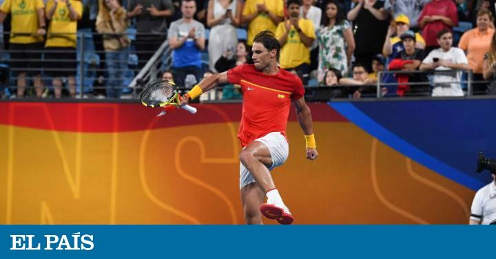 Nada puede con España, finalista de la ATP Cup