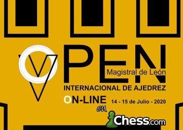El Abierto de León (14-15 julio) será por internet con unos 2.000 jugadores y sistemas antitrampa