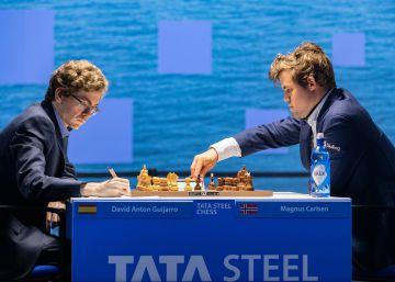 Antón empate con Carlsen tras seis horas de tortura