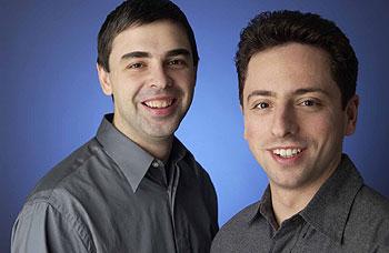 Resultado de imagen de Larry Page y Sergey Brin