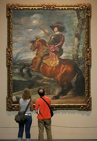 El conde duque de olivares a caballo de vel zquez edici n impresa el pa s - La venus del espejo ...