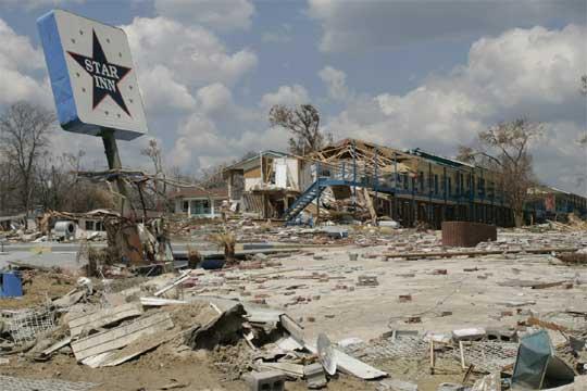 Destrozos Provocados Por El Hurac 225 N Katrina En Biloxi