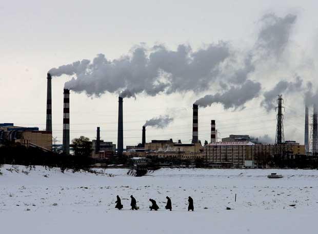 Chimeneas Industriales En Heilongjiang China Edici N