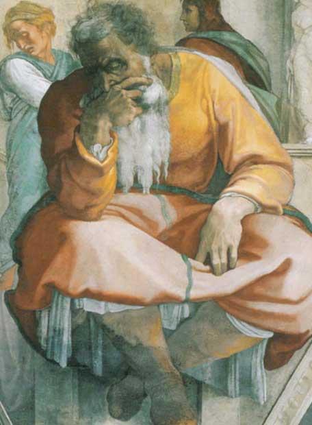 el profeta jerem u00edas  de miguel  u00c1ngel